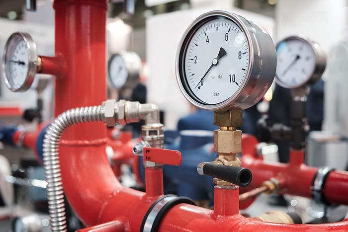 Commercial Boiler Manometer